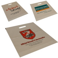Size (18x18x3inch) White or Clear Carrier Bags